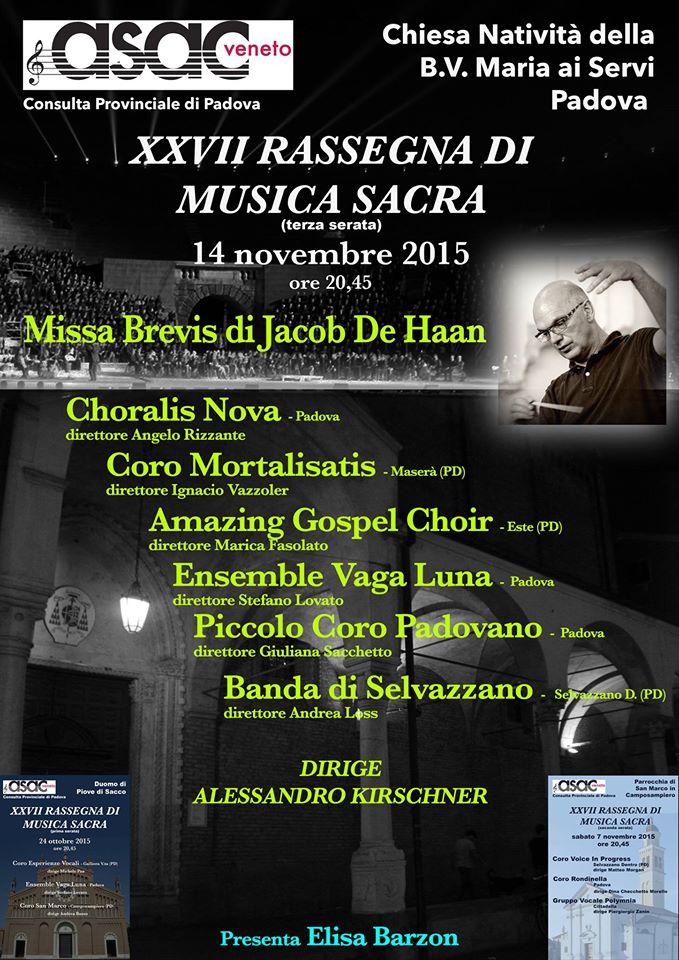 XXVII rassegna musica sacra _Missa Brevis